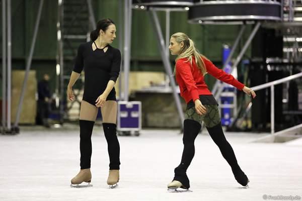 Szenenprobe mit Robin Johnstone für die neue Show BELIEVE von Holiday on Ice