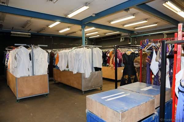 Die Kleiderkammer von Holiday on Ice