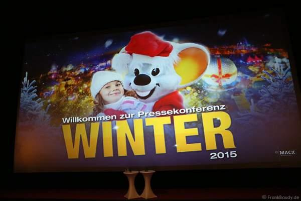 Pressekonferenz Europa-Park Winter 2015/2016