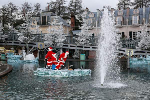 Traumhaft schöne Wintermomente im Europa-Park