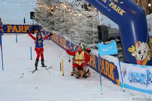 Die Schneerampe Snow-Tubes für erste Skiabenteuer im Winterwunderland Europa-Park