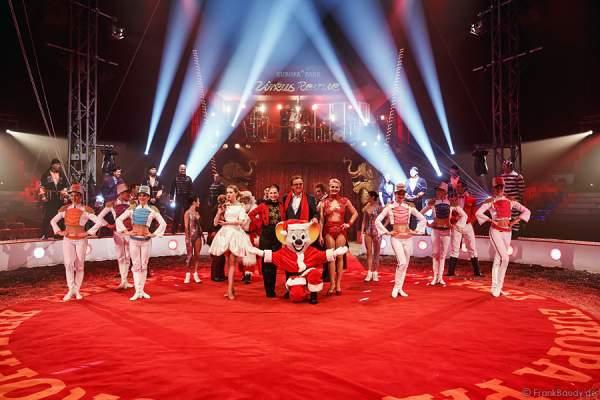 Zirkus-Revue im original Zirkuszelt im Europa-Park Rust 2015/2016