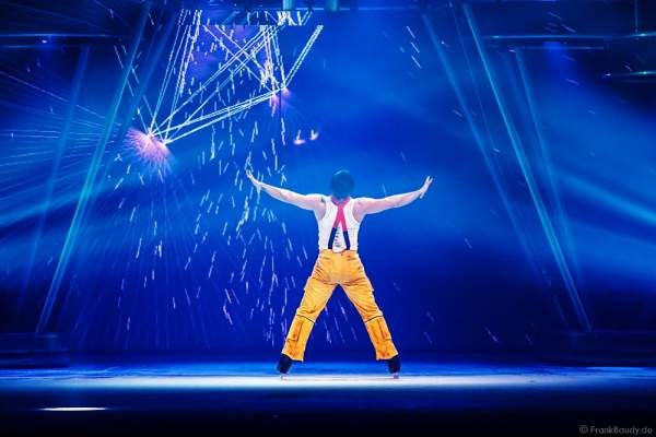 Andrew (Andy) Buchanan als Antonio bei der Eisshow BELIEVE von Holiday on Ice 2015/2016