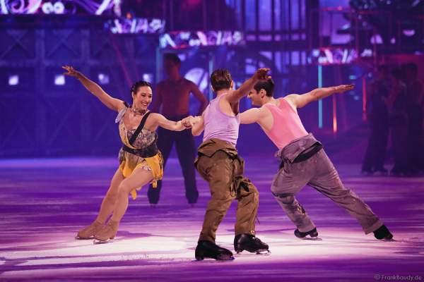 Robin Johnstone als Clarissa bei der Eisshow BELIEVE von Holiday on Ice 2015/2016