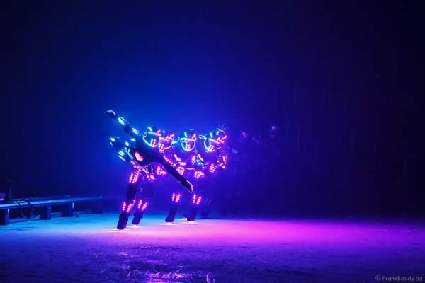 LED - iLuminate act bei der Eisshow BELIEVE von Holiday on Ice 2015/2016
