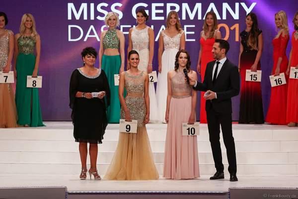 Lena Bröder bei der Vorstellung zur Miss Germany 2016 Wahl im Europa-Park