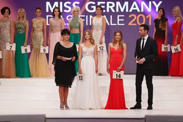Francesca Orru bei der Vorstellung zur Miss Germany 2016 Wahl im Europa-Park