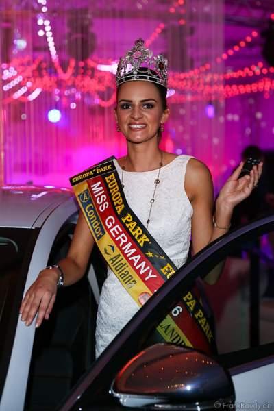 Miss Germany 2016, Lena Bröder gewinnt einen Jaguar XE für ihr Amtsjahr