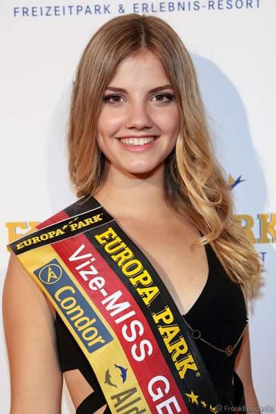 Vize-Miss Germany 2016 Francesca Orru (Miss Schleswig-Holstein) bei der Miss Germany 2016 Wahl im Europa-Park