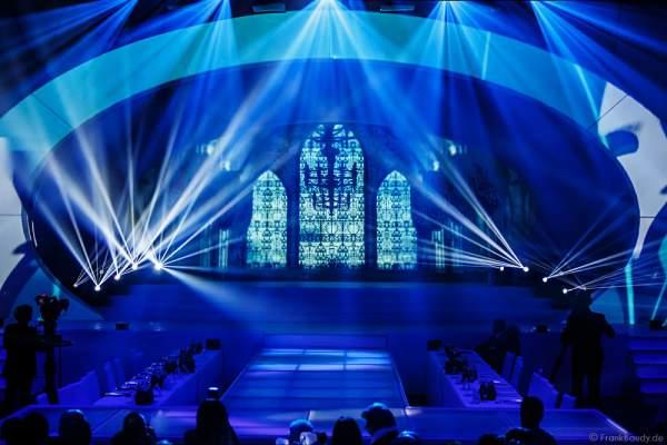 Showbühne bei der Miss Germany 2016 Wahl im Europa-Park am 20.02.2016