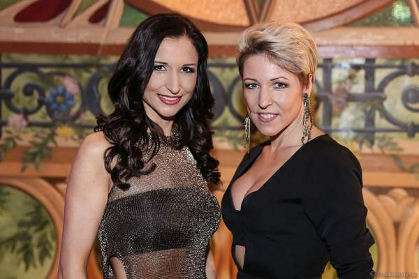 Anita und Alexandra Hofmann (Geschwister Hofmann) bei der Miss Germany 2016 Wahl im Europa-Park am 20.02.2016