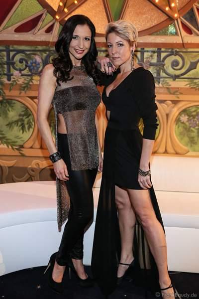 Anita & Alexandra Hofmann (Geschwister Hofmann) bei der Miss Germany 2016 Wahl im Europa-Park am 20.02.2016