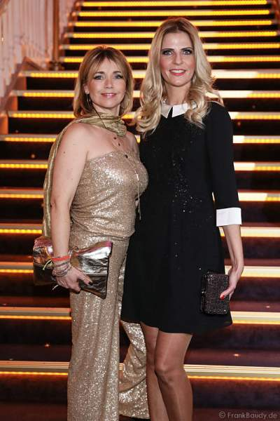 Bettina Tina Ruland und Tanja Bülter bei der Miss Germany 2016 Wahl im Europa-Park am 20.02.2016