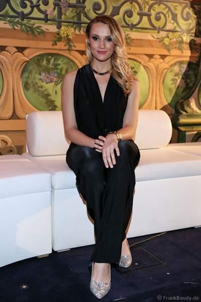 Anna Christiana Hofbauer, Musicalstar & Bachelorette, bei der Miss Germany 2016 Wahl im Europa-Park am 20.02.2016