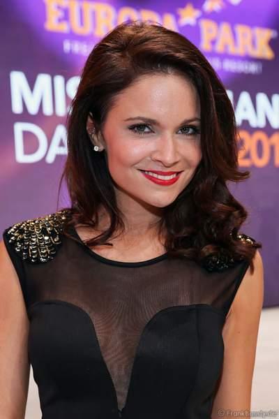 Christina Trost bei der Miss Germany 2016 Wahl im Europa-Park am 20.02.2016