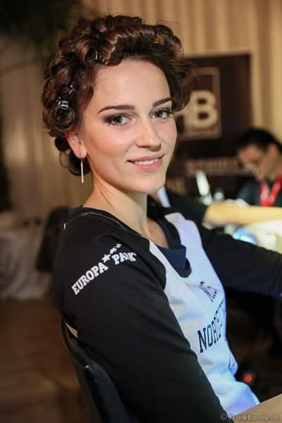Susanne Mines (Miss Norddeutschland 2016) Backstage bei den Vorbereitungen zur Miss Germany 2016 Wahl