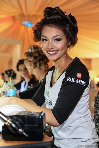 3. Miss Germany 2016 Katharina Schubert (Miss Hessen 2016) Backstage bei den Vorbereitungen