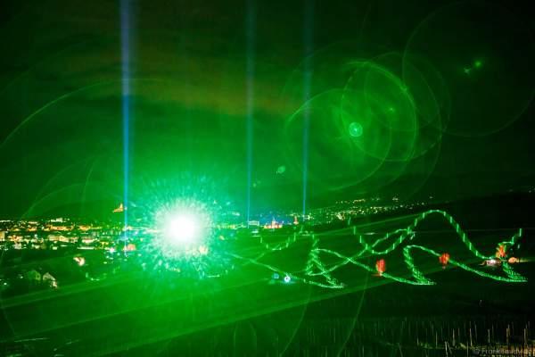 Laser bei der Weinbergnacht 2016 in Bad Dürkheim