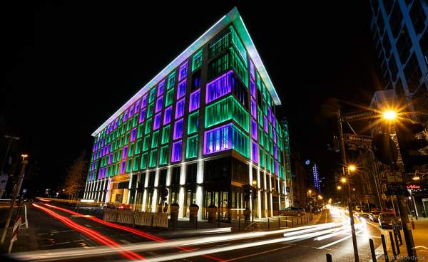 Traditionsbankhaus Metzler bei der Luminale 2016 in Frankfurt