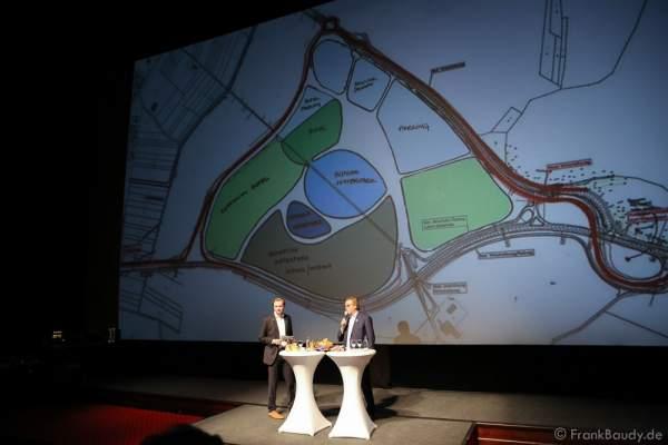 Flächennutzungsplan für den neuen Wasserpark im Europa-Park