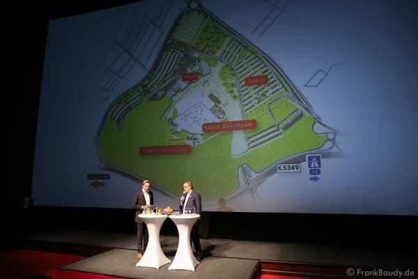 Bebauungsplan für den neuen Wasserpark im Europa-Park