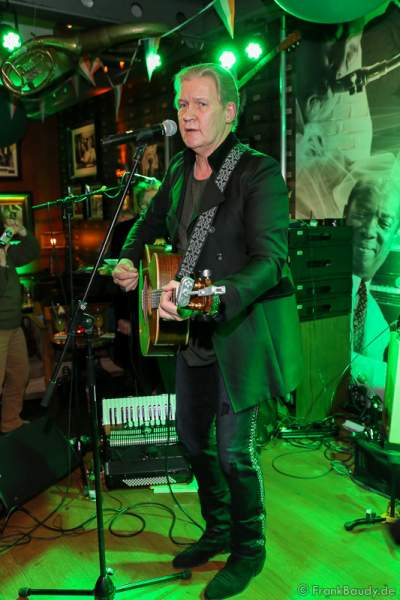 Johnny Logan bei Party zum irischen Nationalfeiertag ST. PATRICK'S DAY im Hotel Bell Rock Europa-Park in Rust