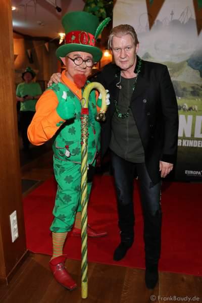 Johnny Logan (Seán Patrick Michael Sherrard O'Hagan) beim ST. PATRICK'S DAY im Hotel Bell Rock Europa-Park in Rust