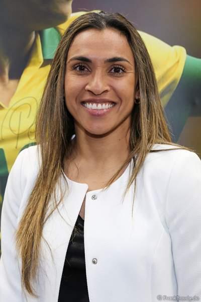 Die brasilianische Fußballspielerin Marta Vieira da Silva