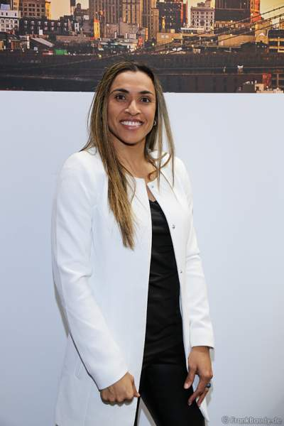 Marta Vieira da Silva aus Brasilien ist die beste Fußballerin der Welt