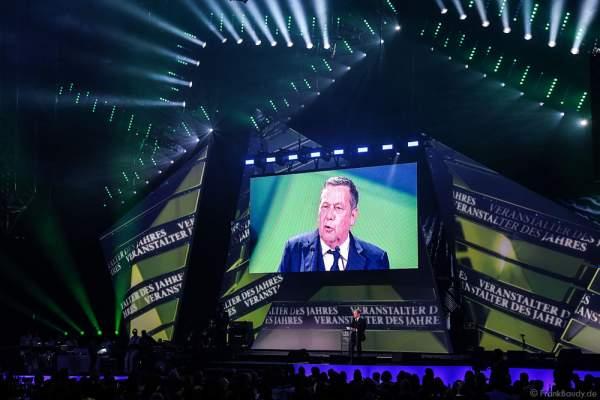 Roland Kaiser beim PRG LEA 2016 - Live Entertainment Award in der Festhalle in Frankfurt