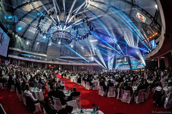 Das Ambiente beim PRG LEA 2016 - Live Entertainment Award in der Festhalle in Frankfurt
