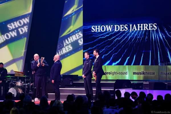 Auszeichnung Show des Jahres: Disneys Aladdin – Das Musical – Stage Entertainment beim PRG LEA 2016