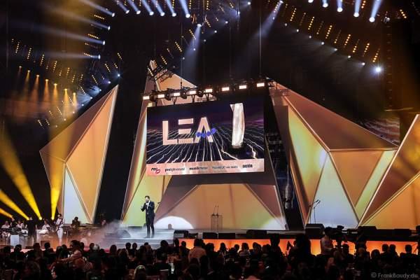 Ingo Nommsen als Moderator beim PRG LEA 2016 - Live Entertainment Award in der Festhalle in Frankfurt