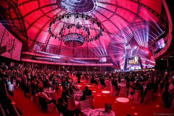 Das Ambiente beim PRG LEA 2016 - Live Entertainment Award in der Festhalle in Frankfurt