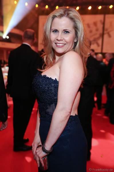 Michaela Schaffrath beim PRG LEA 2016 - Live Entertainment Award in der Festhalle in Frankfurt