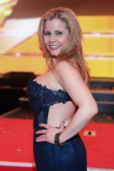 Michaela Schaffrath (geb. Michaela Jänke) aka Gina Wild beim PRG LEA 2016 - Live Entertainment Award in der Festhalle in Frankfurt