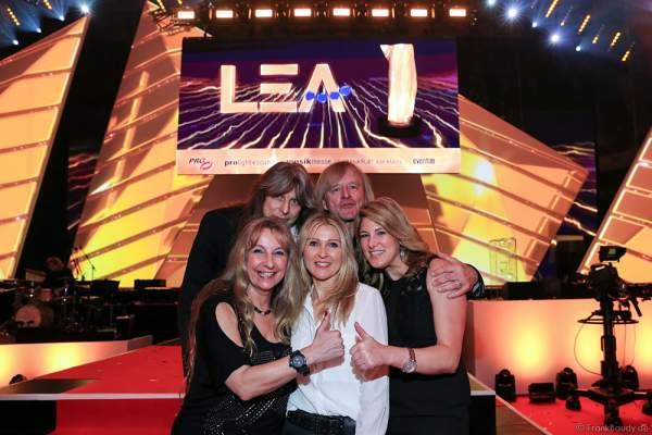 Gäste beim PRG LEA 2016 - Live Entertainment Award in der Festhalle in Frankfurt
