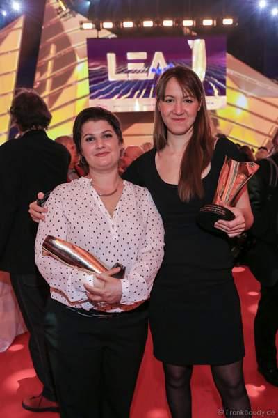 Sophie Hunger beim PRG LEA 2016 - Live Entertainment Award in der Festhalle in Frankfurt