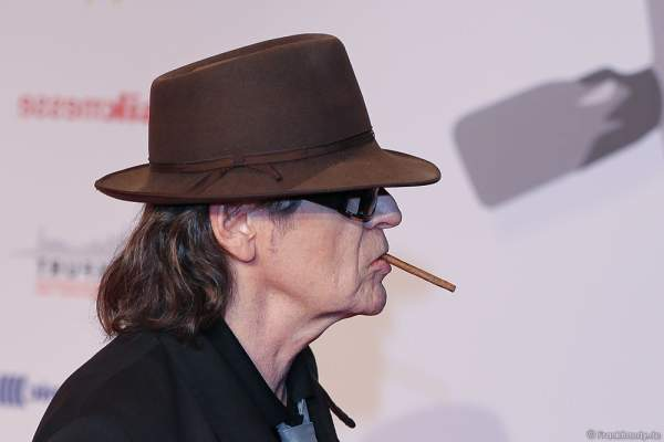 Udo Lindenberg beim PRG LEA 2016 - Live Entertainment Award in der Festhalle in Frankfurt