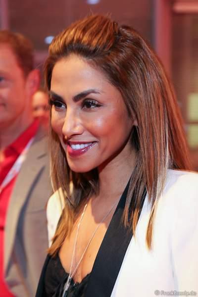 Sabrina Setlur beim PRG LEA 2016 - Live Entertainment Award in der Festhalle in Frankfurt