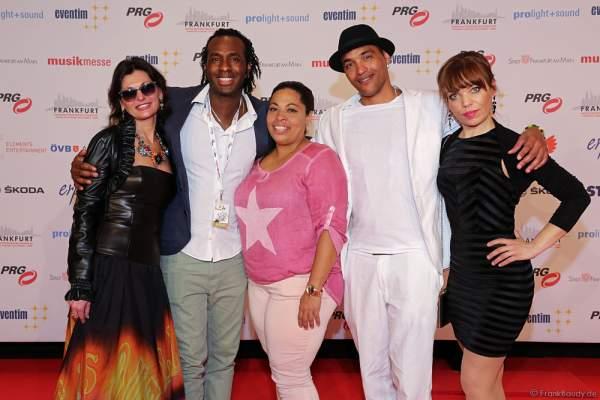 Artisten von Circo National de Cuba beim PRG LEA 2016 - Live Entertainment Award in der Festhalle in Frankfurt