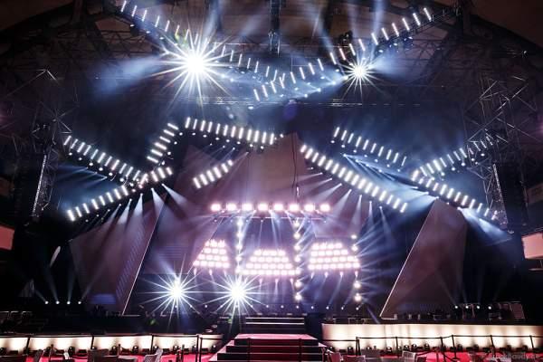 A15 Imposante Demo-Show während der Prolight + Sound 2016 in der Festhalle Frankfurt