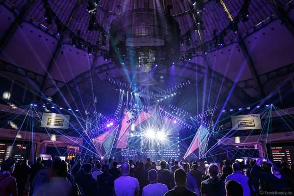 A17 Imposante Demo-Show während der Prolight + Sound 2016 in der Festhalle Frankfurt