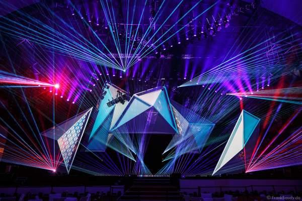 A20 Imposante Demo-Show während der Prolight + Sound 2016 in der Festhalle Frankfurt