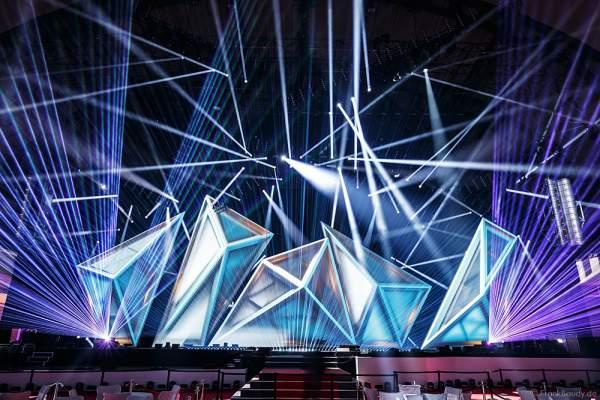 A22 Imposante Demo-Show während der Prolight + Sound 2016 in der Festhalle Frankfurt