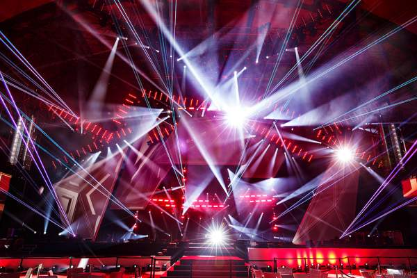A26 Imposante Demo-Show während der Prolight + Sound 2016 in der Festhalle Frankfurt