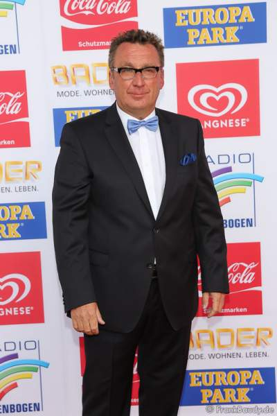 Klaus Schunk beim Radio Regenbogen Award 2016 am 22. April 2016 im Europa-Park in Rust