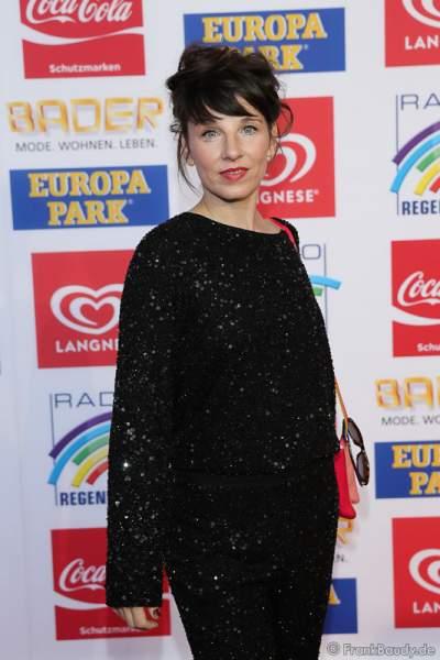Meret Becker beim Radio Regenbogen Award 2016 am 22. April 2016 im Europa-Park in Rust