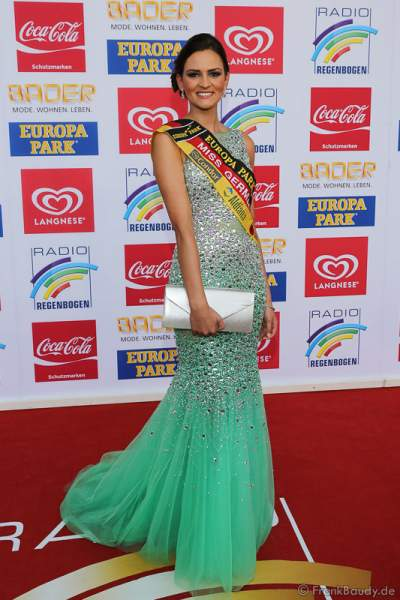 Lena Bröder, Miss Germany 2016 beim Radio Regenbogen Award 2016 am 22. April 2016 im Europa-Park in Rust