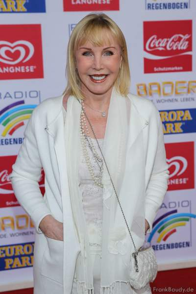 Heike Maurer beim Radio Regenbogen Award 2016 am 22. April 2016 im Europa-Park in Rust